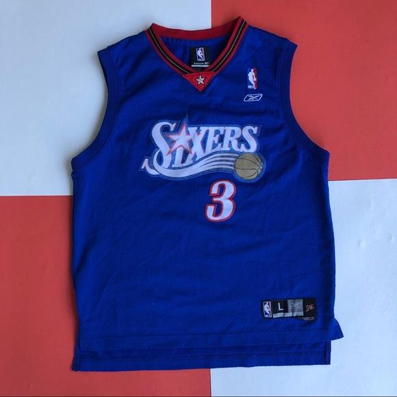 10154739e8a Reebok Shirts & Tops   Allen Iverson Stitched Basketball Jersey ...
